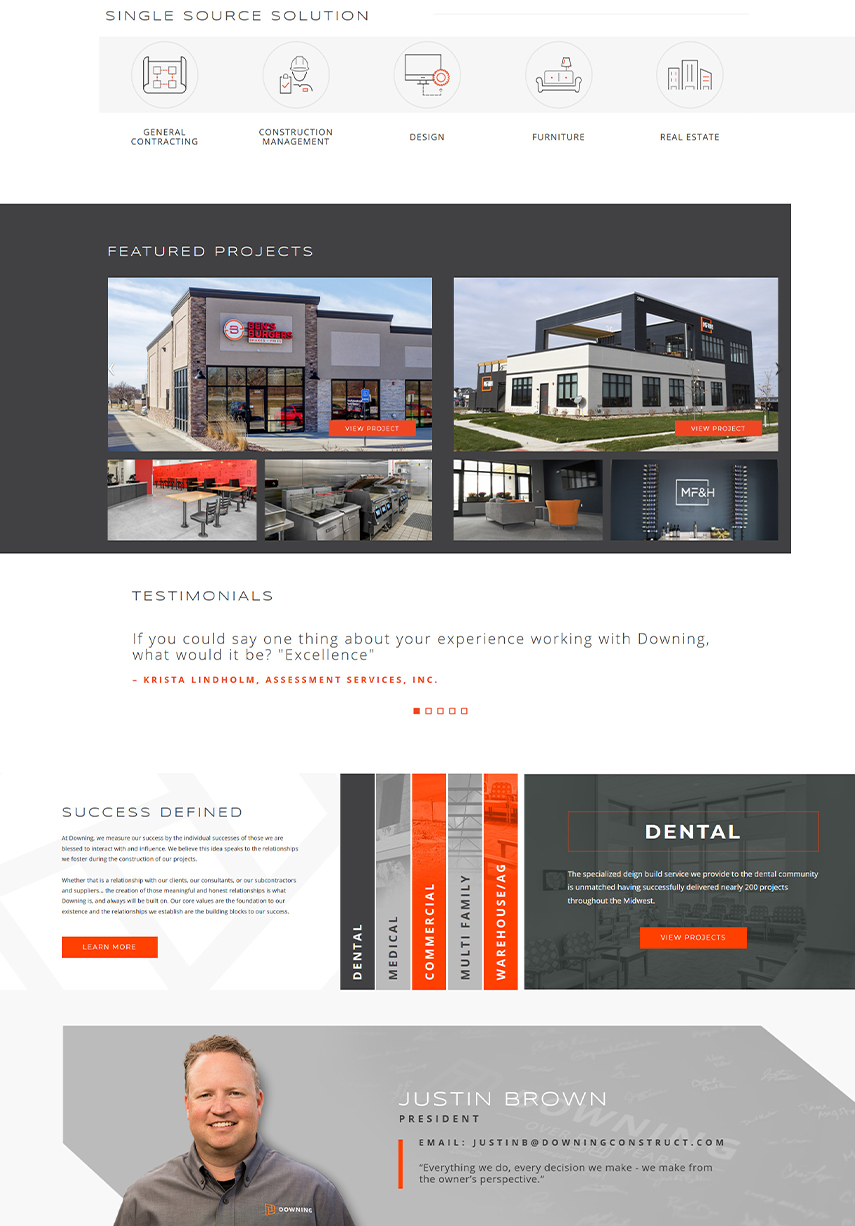 website design in iowa